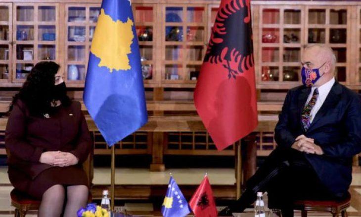 Rama uron Kosovën për Presidenten e re: Zgjedhja e saj përmbylli kuadrin institucional
