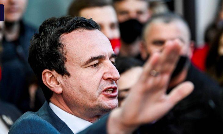 Kurti – opozitës: Ose 80 vota për Vjosa Osmanin apo 500 mijë vota në kuti për Vetëvendosjen.
