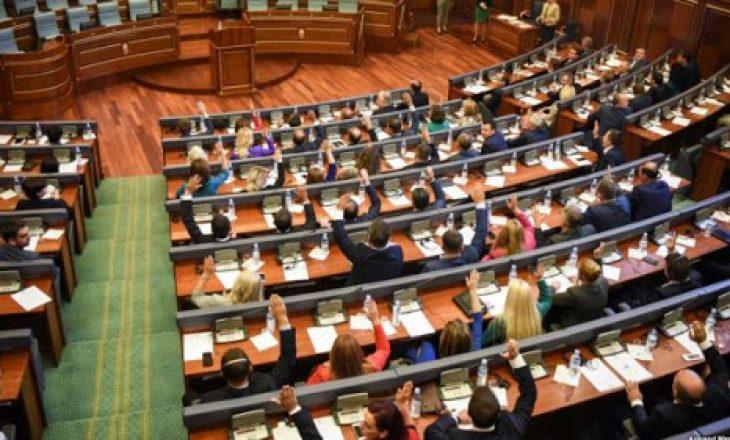 Kuvendi miraton formimin e Komisioneve Parlamentare