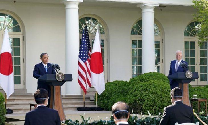 Biden takohet me kryeministrin japonez Suga, biseduan për trajtimin e sfidave nga Kina