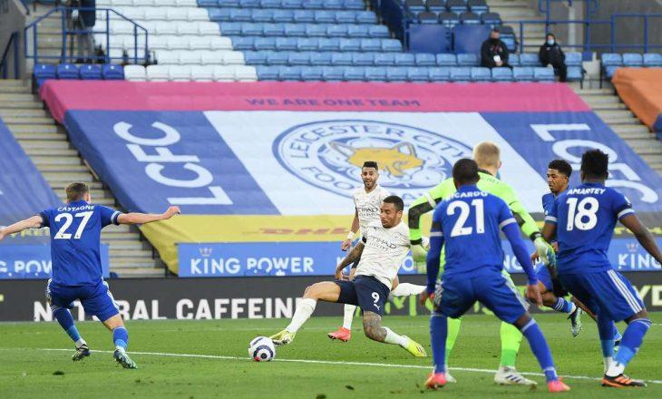 Manchester City vazhdon me fitore, 'viktimë' e radhës e ekipit të Guardiolës është Leicester City
