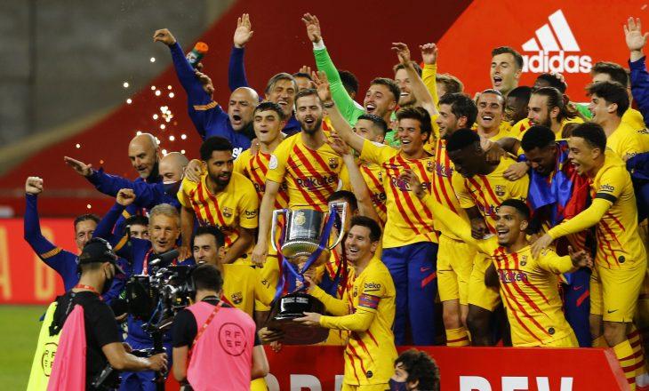 Me dy golat e shënuar në finalen e Kupës, Messi thyen një rekord tjetër