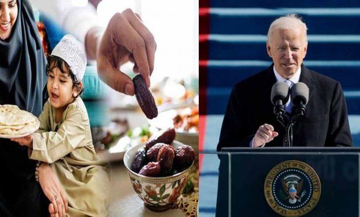 Presidenti amerikan, Biden, uron myslimanët për muajin e Ramazanit