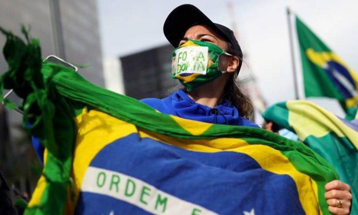 Brazili raporton 3.693 viktima në 24 orët e fundit nga COVID-19
