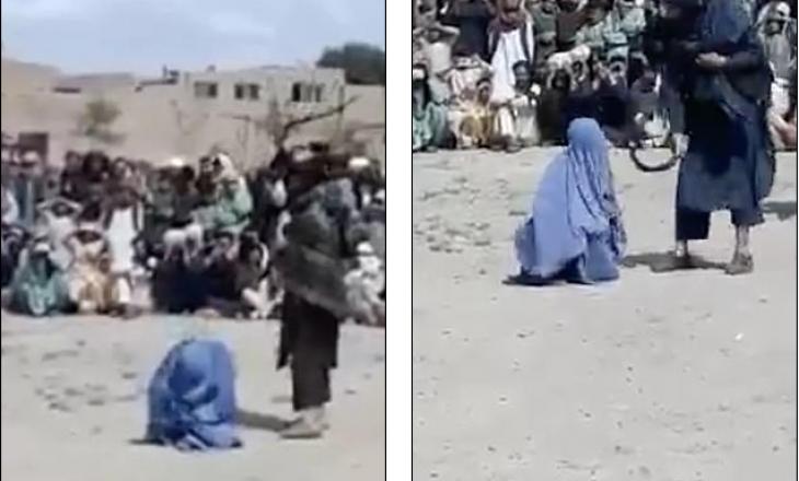 Afganistan: 40 fshikullime me kamxhik për gruan që foli me një burrë në telefon (VIDEO)