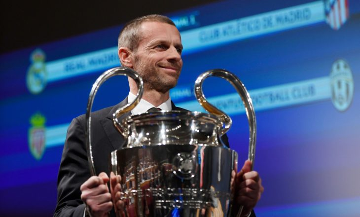 Ceferin: Për mendimin tim, duhet t'i pezullojmë nga garat ato ekipe që përkrahin Super Ligën Europiane