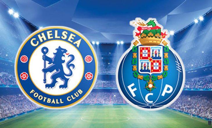 Chelsea vs Porto – formacionet e ndeshjes çerekfinale në Champions League