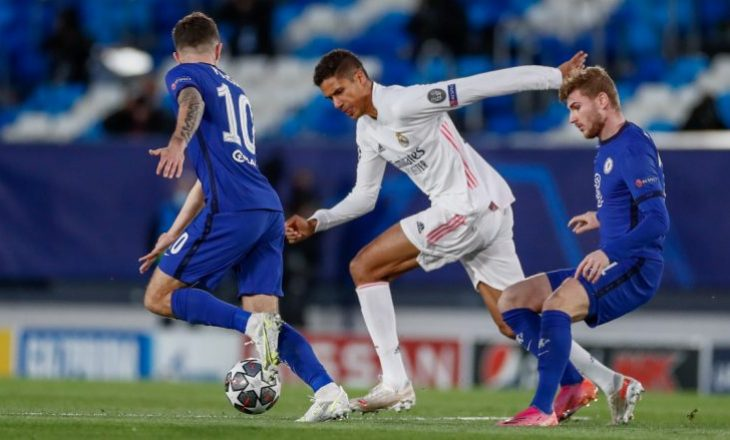 Real Madrid-Chelsea mbyllet në barazim sfida e parë gjysmëfinale e Champions League