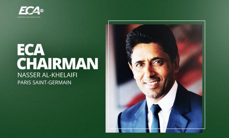 Presidenti i PSG-së Al-Khelaifi emërohet president i Shoqatës Evropiane të Klubeve (ECA)