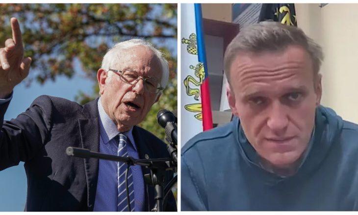 """Bernie Sanders: """"Vladimir Putin po vret Navalny para gjithë botës"""""""