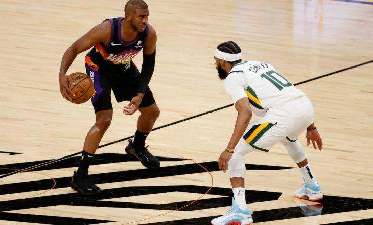 NBA: Phoenix Suns mposht Utah Jazz pas vazhdimeve – rezultatet e ndeshjeve të fundit