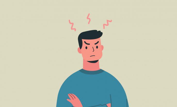 Zemërimi mund t'ju bëjë të shtoni peshë