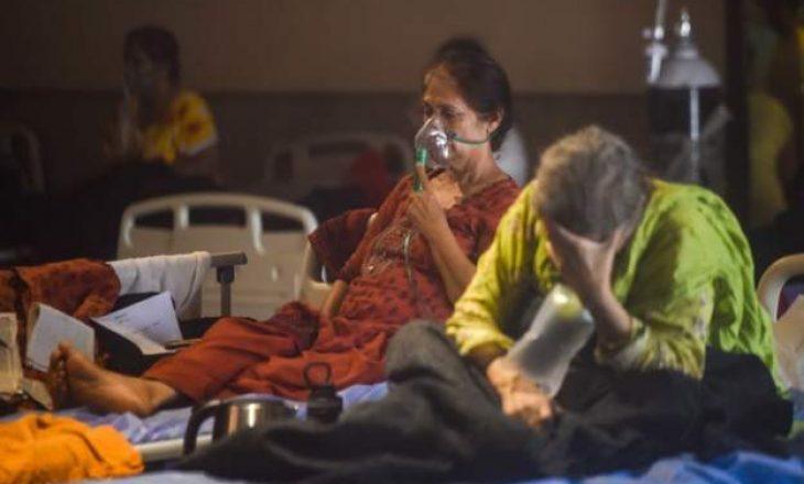 Rekord i të infektuarve me Coronavirus në Indi