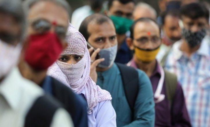 India regjistron rekord të rasteve ditore me infektim nga COVID-19 që nga fillimi i pandemisë