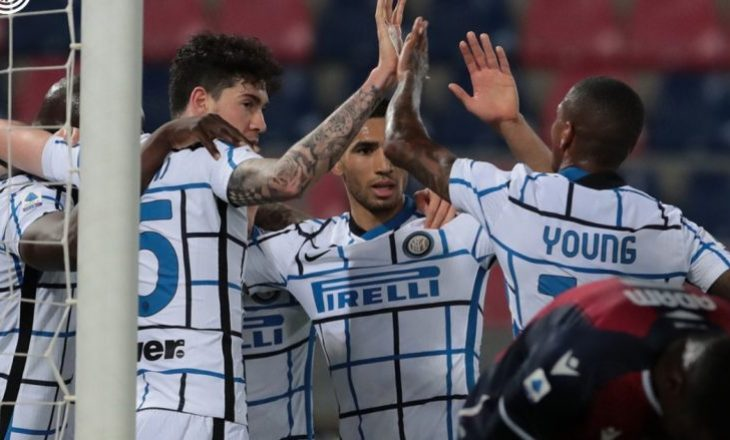 """Inter mposht Bolognën në """"Dall'Ara"""", përforcon kreun"""