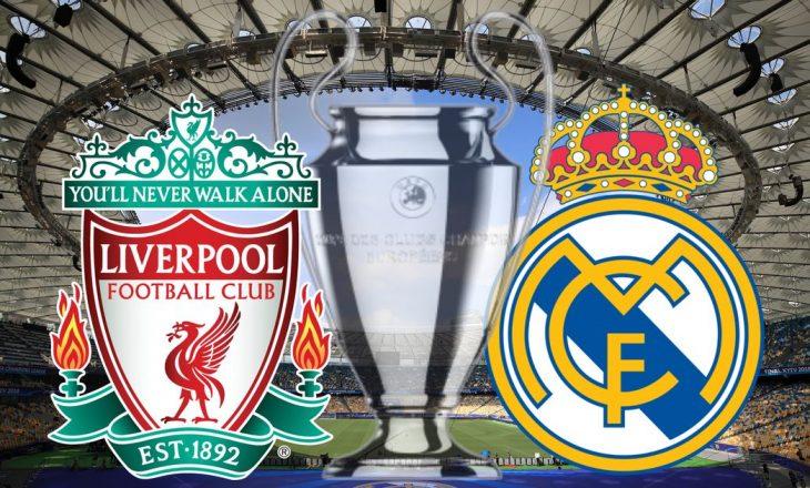 Liverpool vs Real Madrid – formacionet e ndeshjes çerekfinale të kthimit