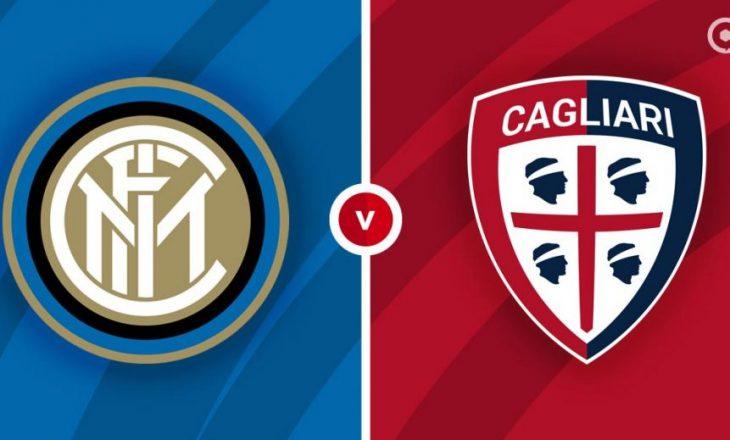 Inter vs Cagliari – formacionet zyrtare