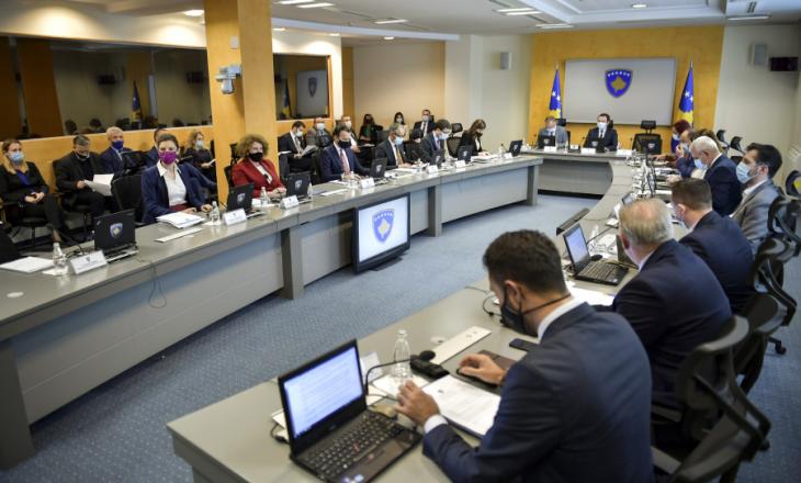 Të gjitha vendimet që Qeveria mori në mbledhjen e sotme