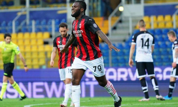 Milan mposht Parmën si mysafir