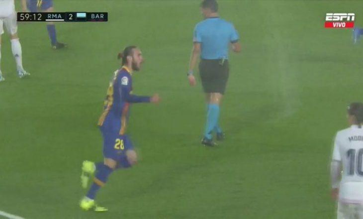 """Barcelona ngushton rezultatin me Minguezën në """"El Classico"""""""