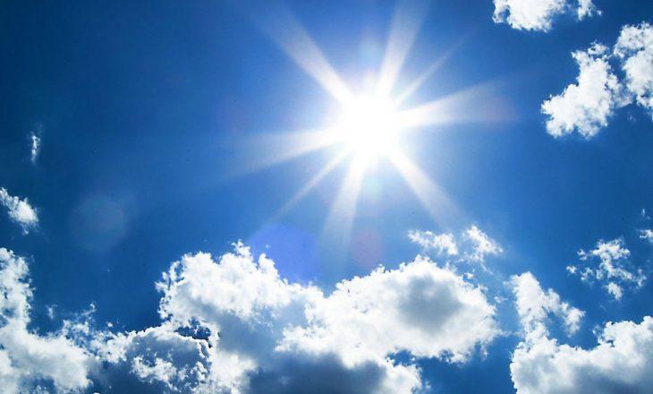 Moti me diell sot e temperatura të larta
