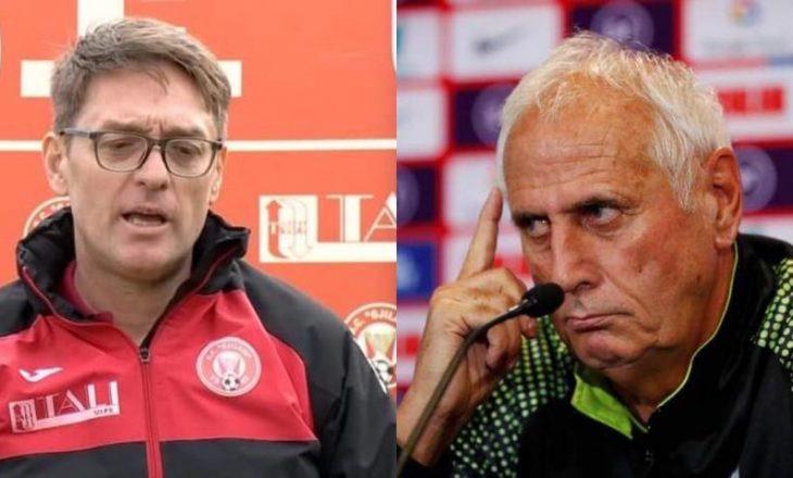 Trajneri i Gjilanit, Munishi reagon pas mos-ftesës së Dakut nga Challandes te Kosova