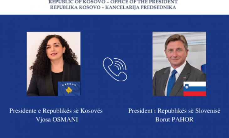 Osmani bisedon me homologun e Sllovenisë për sigurimin e vaksinave anti-COVID'19