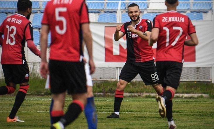 Ekipet shqiptare në elitën e futbollit të Maqedonisë së Veriut shënojnë fitore