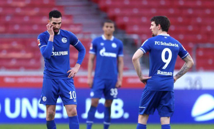 Schalke përshëndetet me Bundesligën, ekipi i Mustafit bie në Bundesliga 2