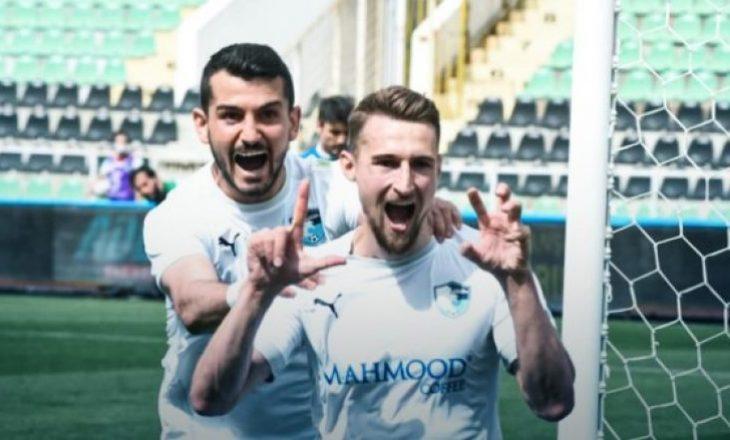 Rashani i siguron fitoren Erzurumit me dy golat e tij në Superligën turke