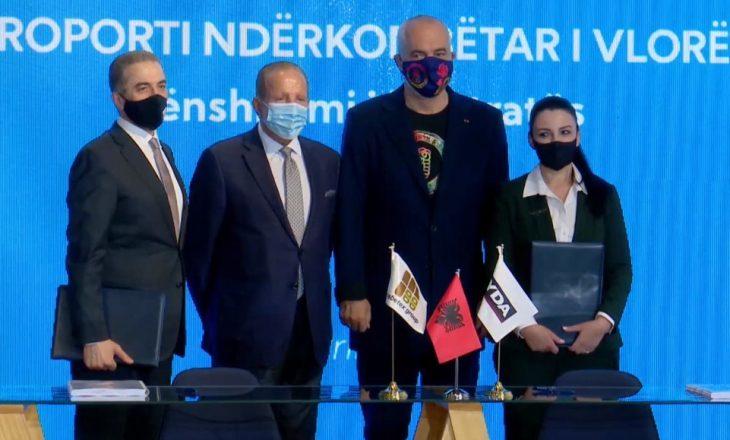 """Nënshkruhet marrëveshja për Aeroportin e Vlorës, Rama: """"Moment më i rëndësishëm se vaksinat"""""""