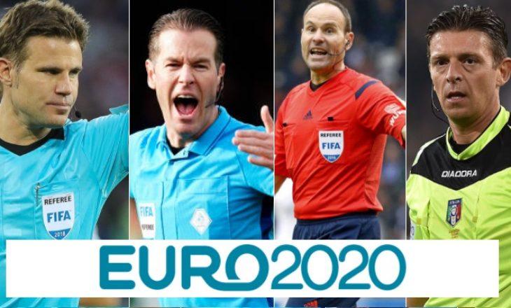 UEFA publikon listën e gjyqtarëve që do të ndajnë drejtësinë në Kampionatin Europian