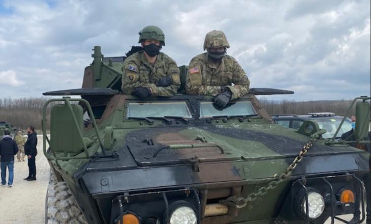 Ushtria amerikane trajnon shoferët e FSK-së