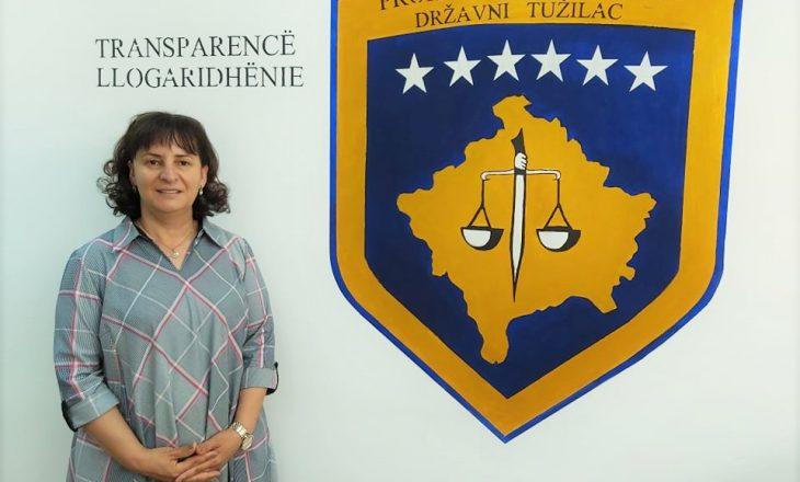 """Prokurorja Disha-Haxhosaj mohon se u """"shpërblye"""" nga Haxhiu për shkak të rastit ndaj Haki Rugovës"""