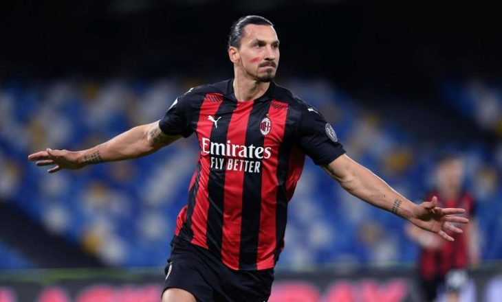 Ibrahimoviç do të rinovojë kontratën me Milanin edhe për një vit