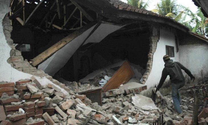 Nga tërmeti që ka goditur rajonin Java të Indonezisë, gjashtë persona kanë humbur jetën