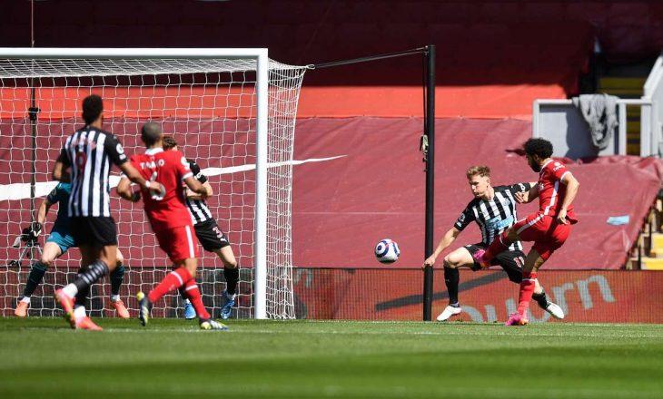 Liverpool në fund lëshon fitoren nga dora, barazon me Newcastle