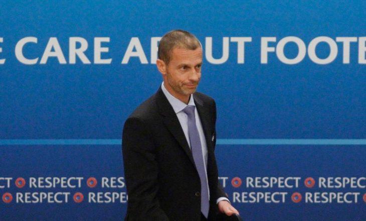 """Ceferin flet për """"Daily Mail"""" në lidhje me Super Ligën Europiane"""
