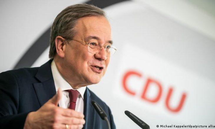 Armin Laschet nga CDU-ja është kandidat i koalicionit CDU-CSU për kancelar në zgjedhjet e përgjithme të Gjermanisë
