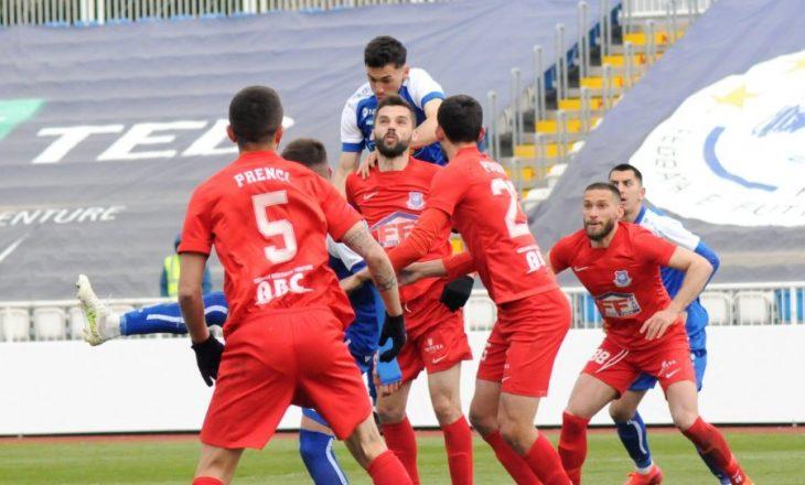 Prishtina befasohet në sfidën e parë gjysmëfinale nga Llapi