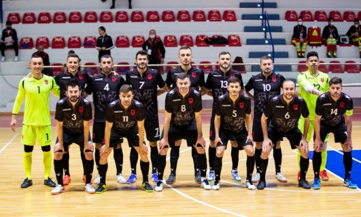 Shqipëria nuk udhëton në Ukrainë për ndeshjen eliminatore në futsall