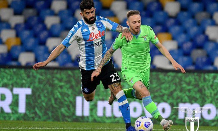 Ndeshja Napoli-Lazio prodhoi shtatë gola, në fund fitores i'u gëzua ekipi i Gattusos