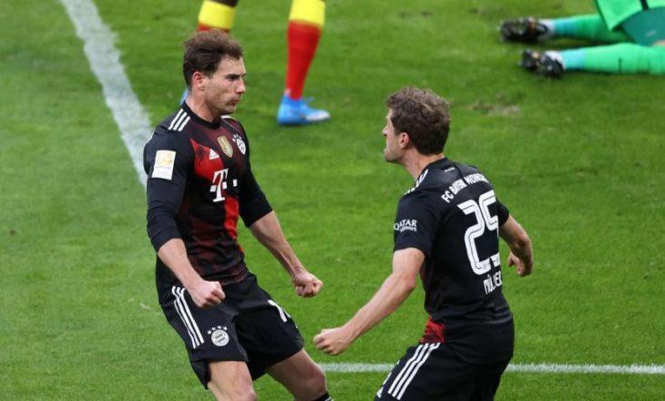 Bayern Munchen fiton derbin ndaj Leipzig, shkëputet në tabelë