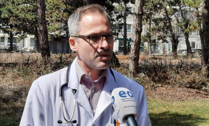Pulmologu Morina: Pacientët që e kanë kaluar COVID-19 vazhdojnë të kenë probleme me mushkëritë
