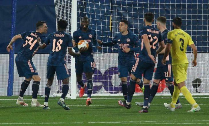 Villarreal dhe Manchester United shënojnë fitore në ndeshjet e para gjysmëfinale të Europa League