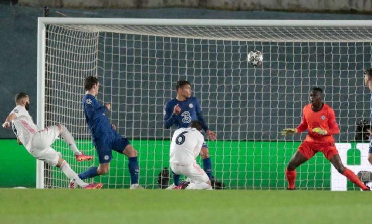Benzema barazon shifrat ndaj Chelseat