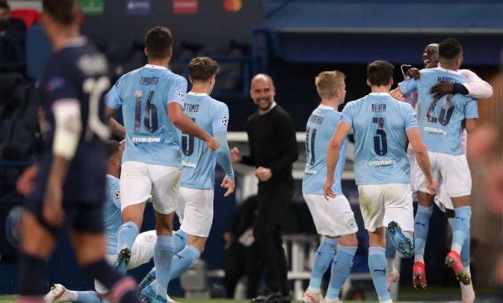 Manchester City fiton me përmbysje sfidën e parë gjysmëfinale ndaj PSG-së në Champions League
