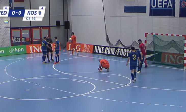 Kosova dhe Holanda barazojnë pa gola në ndeshjen miqësore në futsall