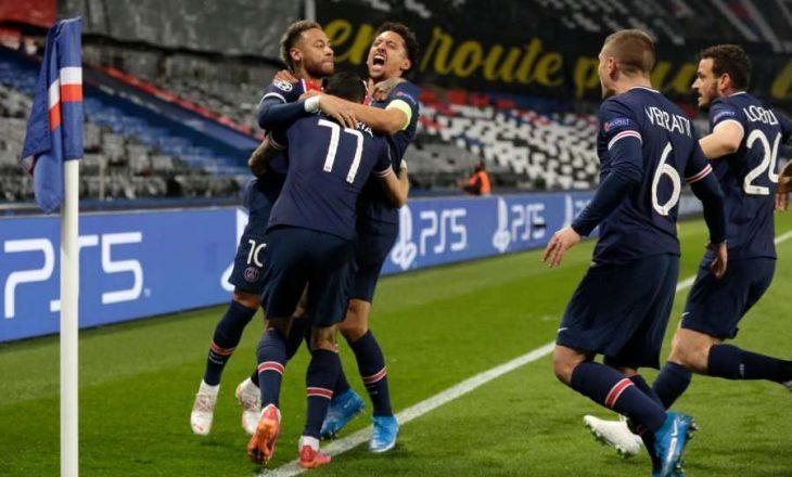 PSG në epërsi pas pjesës së parë ndaj Manchester Cityt