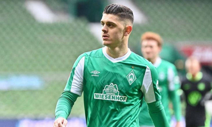 Rashica shënon gol për Werder Bremen nga pika e bardhë ndaj Leipzig